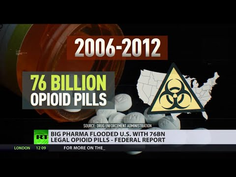 Are US Big Pharma behind the opioid epidemic?