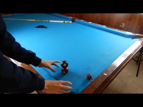 How to stack pool balls