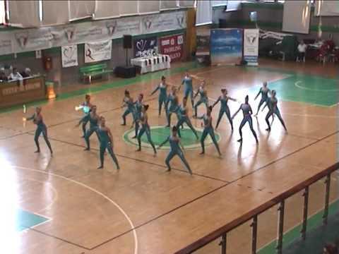 Twirling Cormano-Gruppo Coreografico senior seria A 2017 - CormaNova