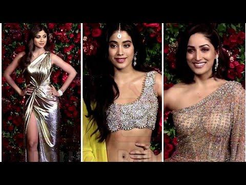 Gorgeous Beauties Appearance At Ranveer-Deepika Reception Party #DeepVeer Wedding Party