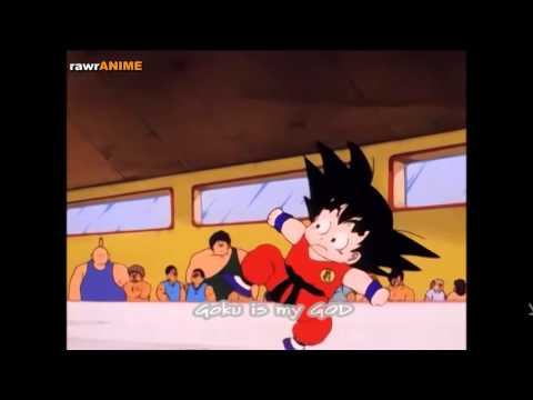 Goku's first fight in tournament