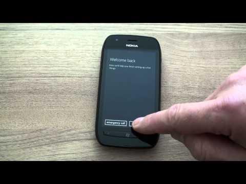 Nokia Lumia 710 hard reset