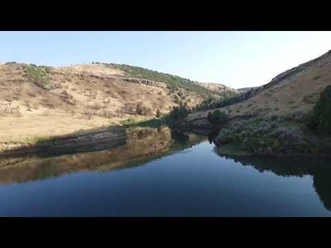 Blacktail reservoir Idaho Falls Idaho by Chris Miller-Zero Gravity