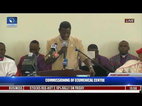 Commissioning Of Ecumenical Center Pt. 5
