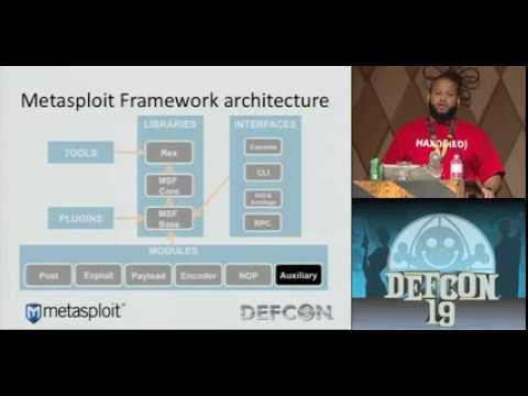 DEFCON 19: Metasploit vSploit Modules