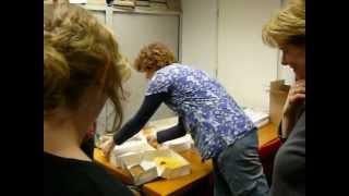 Afscheid van Linda Rossiau en Yvonne van Kemenade bij Kempen Pers