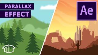 Landschaft Spiel Parallax-Effekt Tutorial für After Effects CC