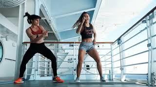 """The Drop"" By bro Safari    Dance Fitness Choreo By Sarah Placencia Video"