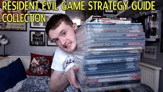 MY COMPLETE RESIDENT EVIL GAME STRATEGY GUIDE BOOK COLLECTION