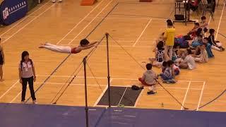 Publication Date: 2018-05-12 | Video Title: 2018年全港小學体操比賽---單杠(崔樂童)