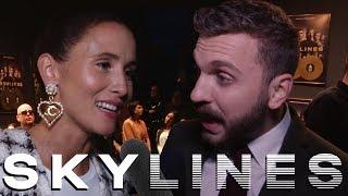 SKYLINES Staffel 1 Interview mit Edin Hasanovic amp; Peri Baumeister  Jinn amp; Sara  Netflix Serie