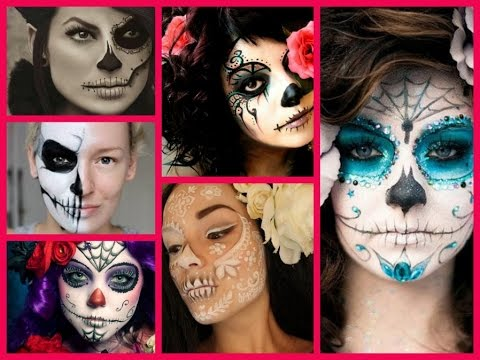 50 Creepiest Halloween Makeup Ideas for Women - YouTube