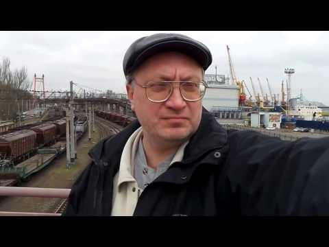 Одесса Дерибасовская ЖД вокзал Морской порт Odessa Deribasovskaya Railway station Sea port