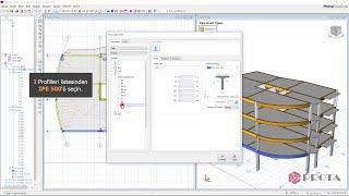 ProtaStructure ile Modelleme - Çelik Elemanların Tanımlanması