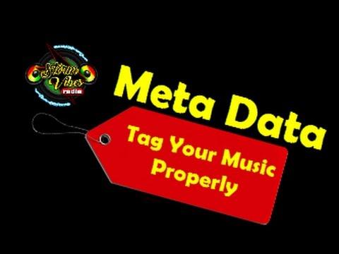 MP3 Tag Tutorial  - Metadata Tagging Audio Files  2016