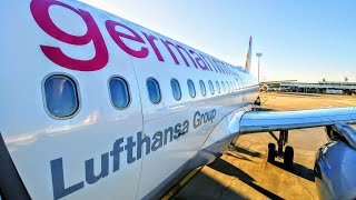 ✈FLIGHT REPORT | Germanwings (Economy) | Düsseldorf - Nürnberg / Nuremberg | Airbus A319