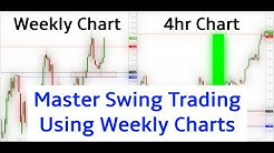 How To Swing Trade Using Weekly Charts (400 pip live swing trade)