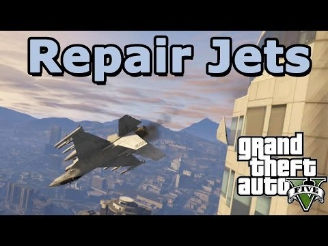 GTA 5 Online: Repair and duplicate your Jets in free roam (solo) PATCHED IN 1.10