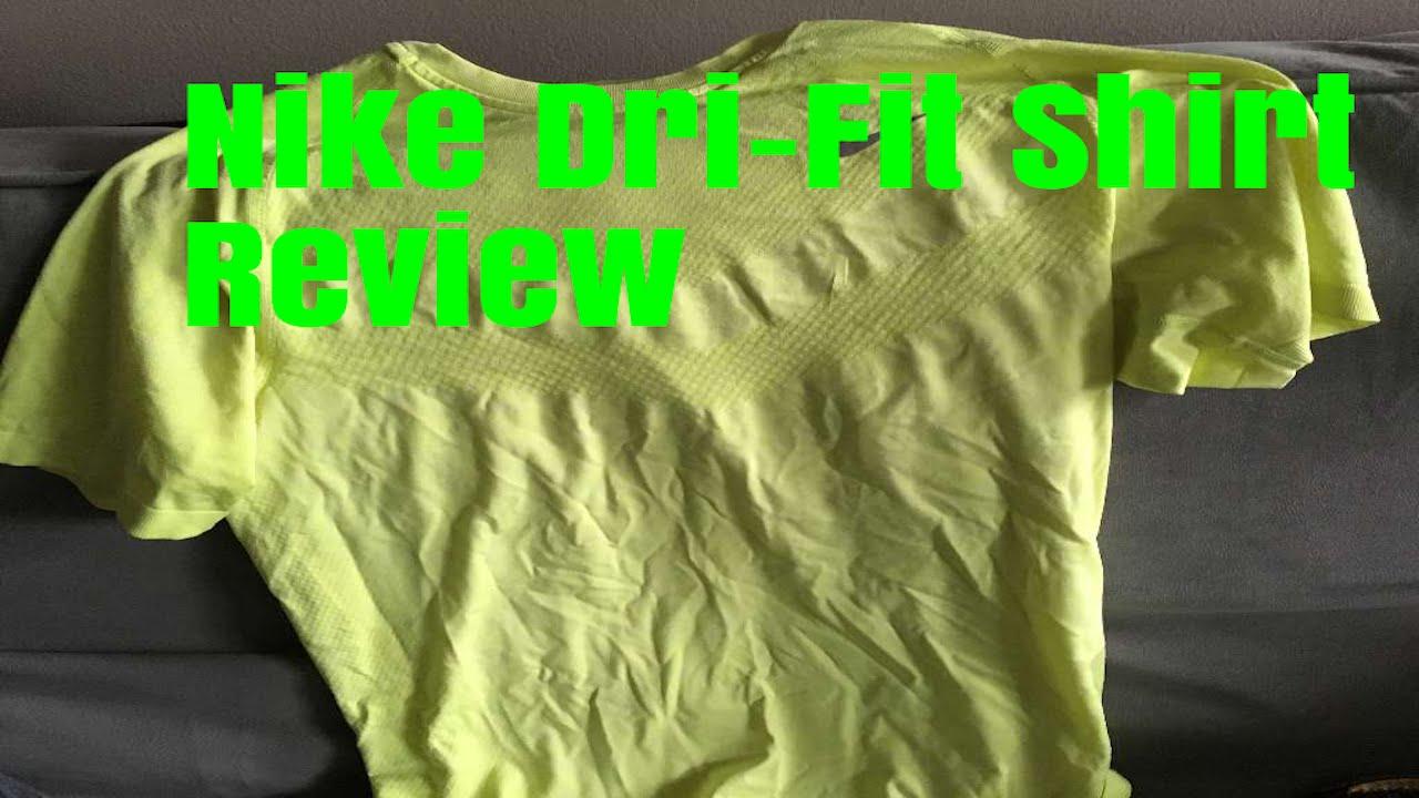 Nike Dri Fit Shirt Review Youtube