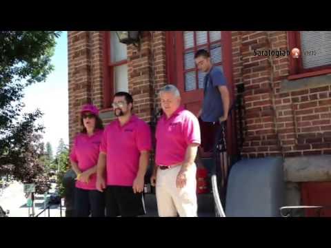 Saratogian staff completes the ALS Ice Bucket Challenge!
