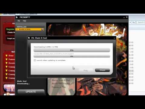 Blade & Soul Atomix client download and install
