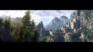 Witcher 3 -  Cinematic - Fight at Kaer Morhen