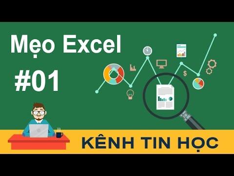 Thủ thuật Excel #1 - Cách chèn ảnh cố định vào ô trong Excel