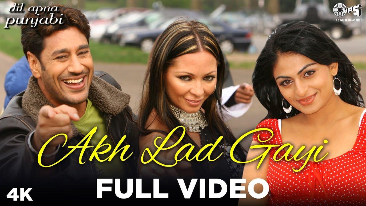 Akh Lad Gayi Full Video - Dil Apna Punjabi | Harbhajan Mann, Neeru Bajwa | Punjabi Hits