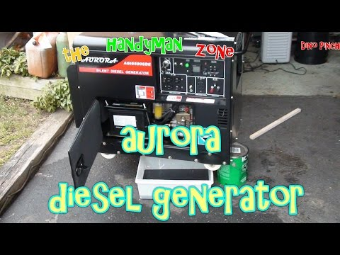 Generator Oil Change