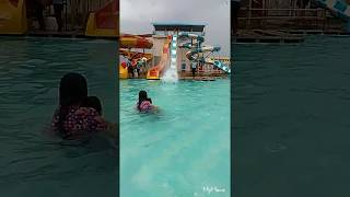 Sliding in water park/ playing in water/ kids play in water/ Palak play world