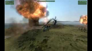 arma 2 fun with attachto and the ace nuke