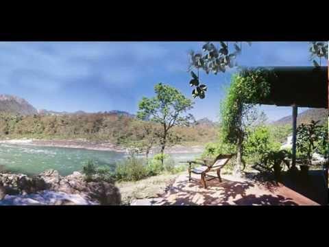 India Uttarakhand Rishikesh Glasshouse on the Ganges India Hotels Travel Ecotourism