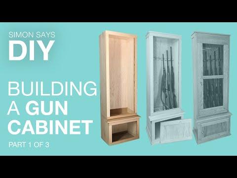 DIY Gun Cabinet Part 1 of 3