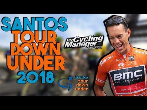 LE SANTOS TOUR DOWN UNDER 2018 sur PRO CYCLING MANAGER 2017 - Preview