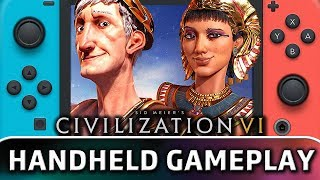Civilization 6 | 25 Minutes in Handheld MODE on Switch