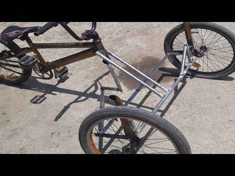 Build a T-REX Bike From BMX | Philippine Made BMX Bike Build | Part 1 of 2