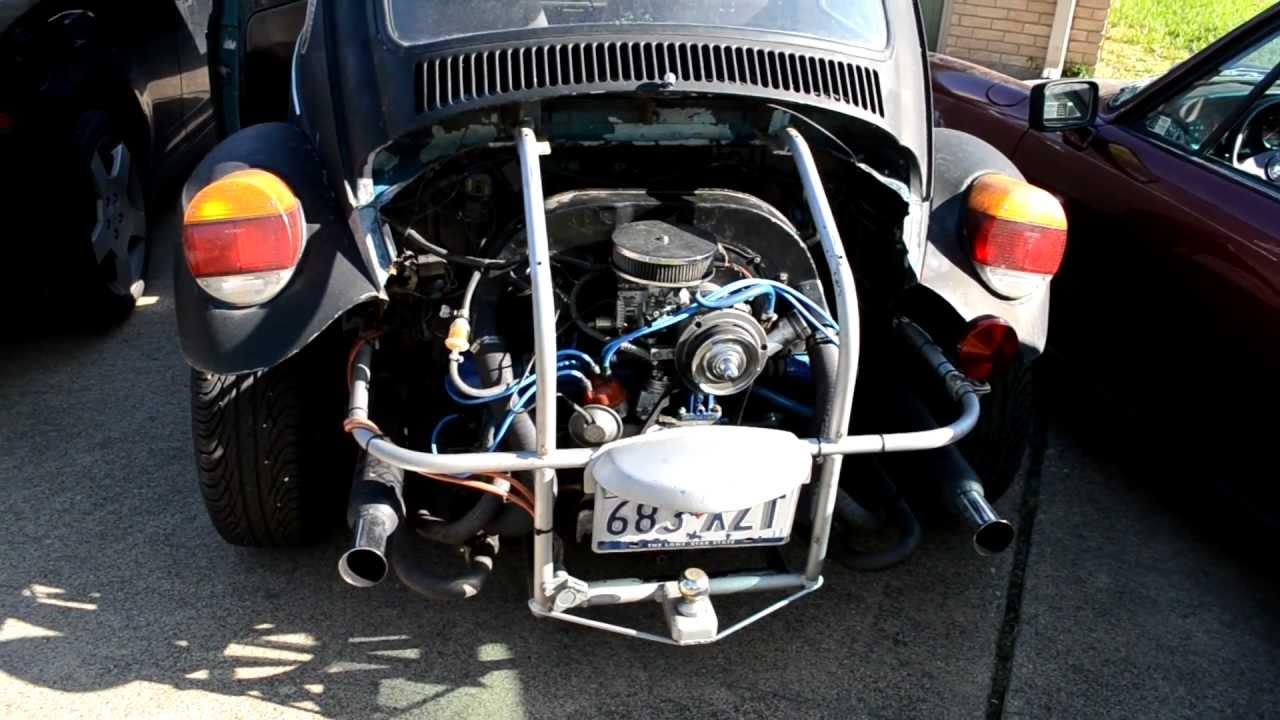 1974 Vw Baja Bug Exhaust Sound 1600 Youtube