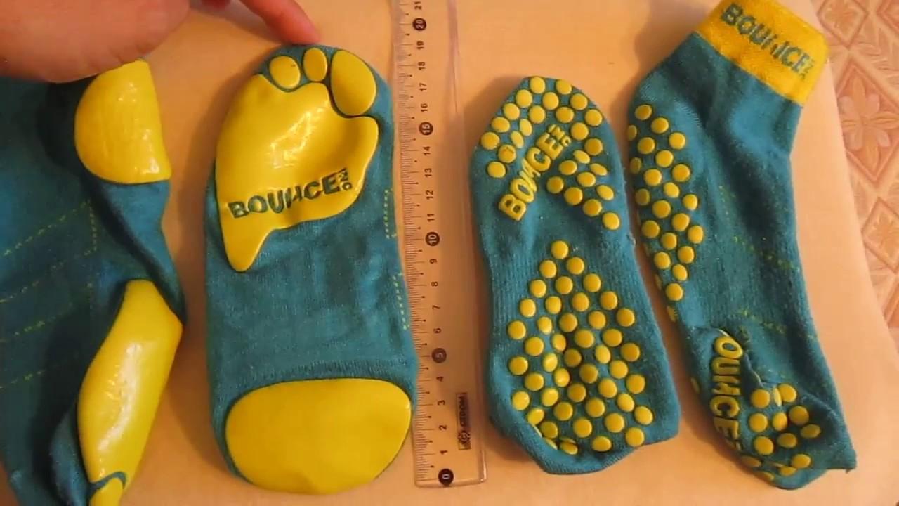 Как сделать носки нескользящими 801