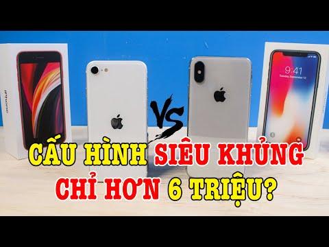 Tư vấn điện thoại iPhone SE 2020 Apple A13 cực mạnh hơn 6 TRIỆU