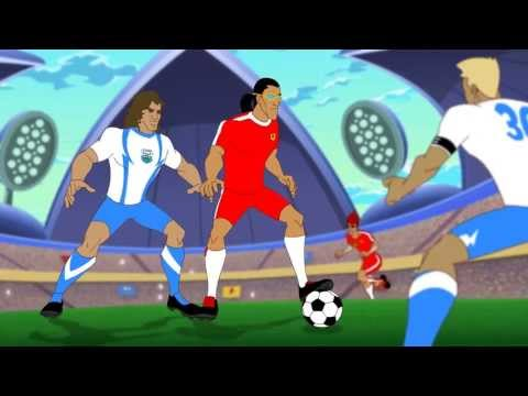 Supa Strikas - Season 2 - Ep 22 - Tough Luck (Part 2 of 2) - Soccer Adventure Series
