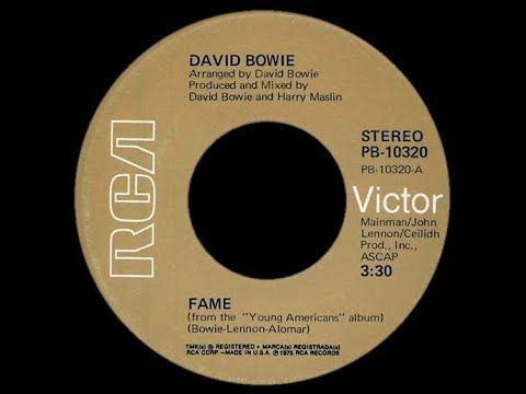 David Bowie ~ Fame 1975 Disco Purrfection Version