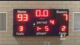 High School Basketball Player 'Very Embarrassed' After 93-7 Blowout