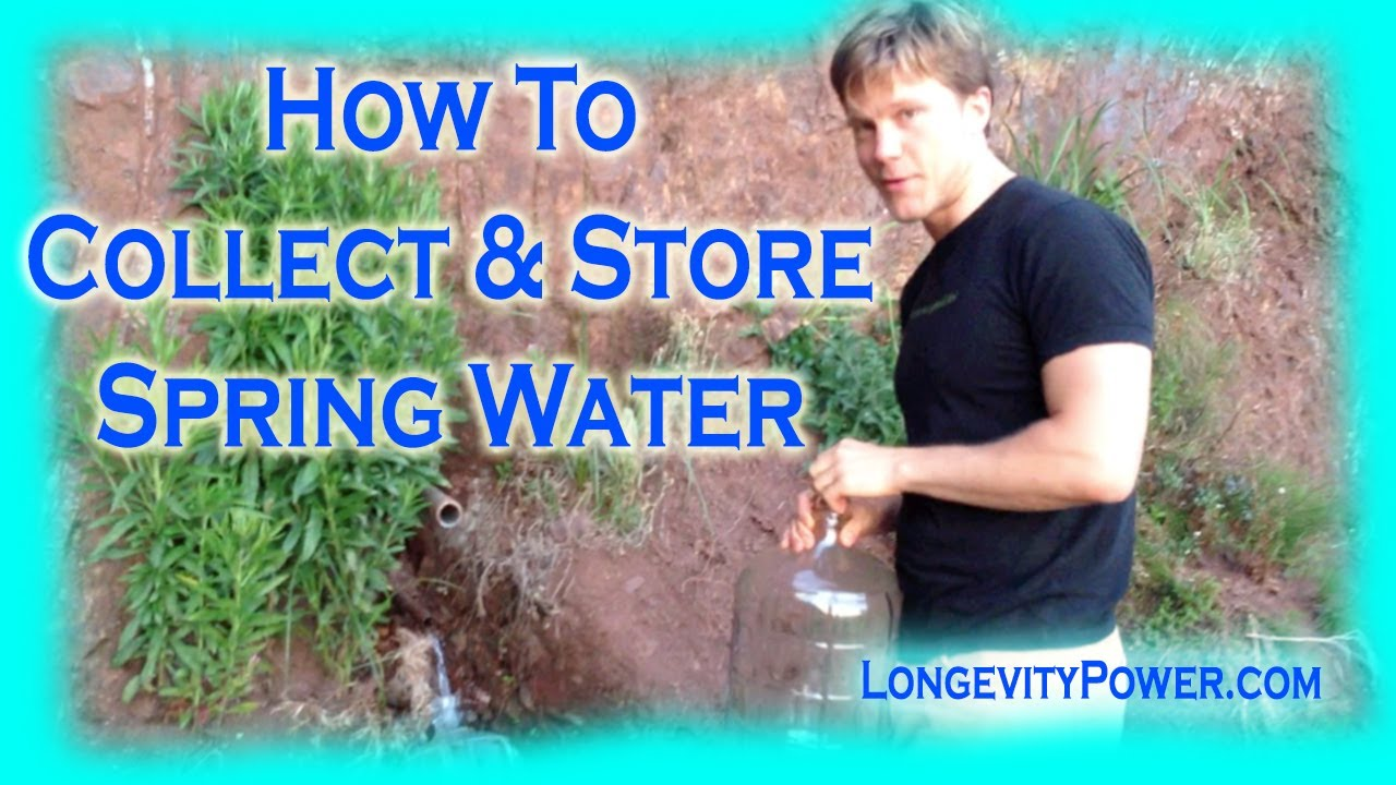 how to develop a natural spring