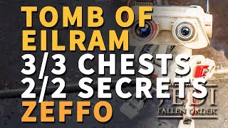 Tomb of Eilram Chests and Secrets All Locations Zeffo Star Wars Jedi Fallen Order