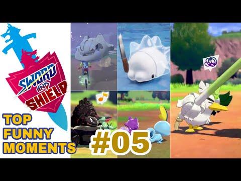 PART 05 Pokemon Sword and Shield TOP FUNNY & CUTE MOMENTS COMPILATIONиз YouTube · Длительность: 5 мин20 с