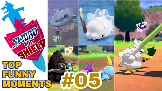 PART 05 Pokemon Sword and Shield TOP FUNNY & CUTE MOMENTS COMPILATION