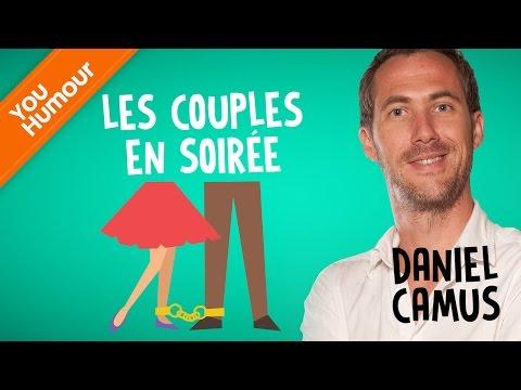 DANIEL CAMUS  - Les couples en soirée