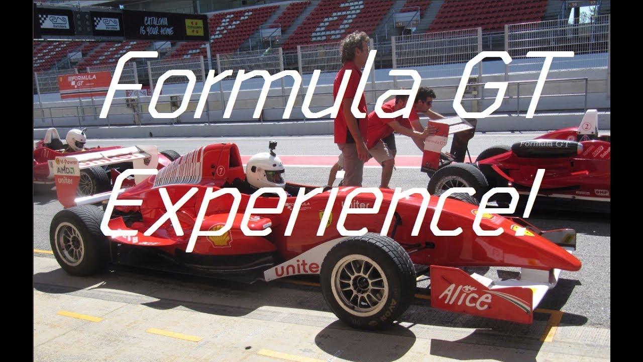 Formula Gt Experience  Cumpliendo Un Sueño!  Youtube