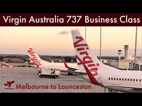 Virgin Australia Boeing 737 - Business Class Review - Melbourne To Launceston