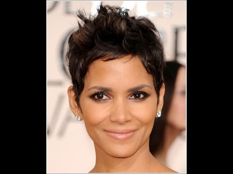 Halle Berry Inspired Haircut Tutorial Youtube